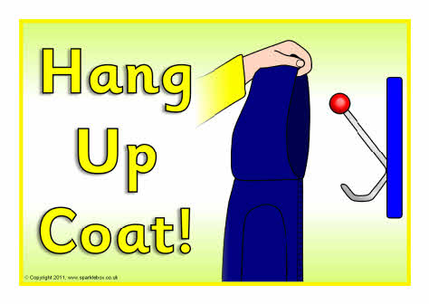 Download hang up jacket clipart Coat Cloakroom Clip art.