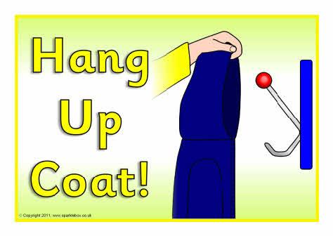 Download hang up jacket clipart Coat Cloakroom Clip art.