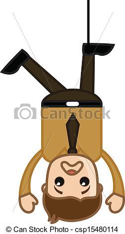 Hanged man clip art.
