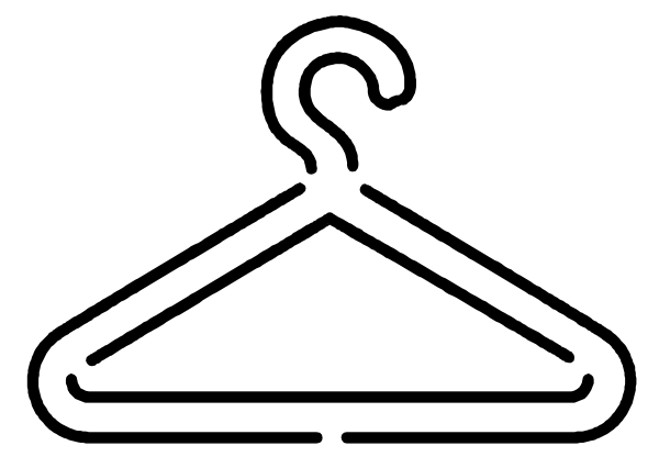 Hanger clip art.