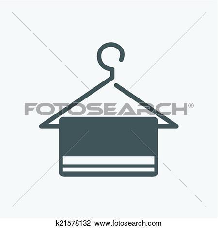 Clipart of hanger icon k21578132.