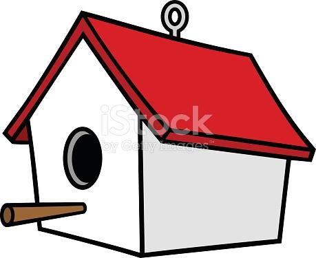 Birdhouse With A Hanger stock vector art 508030000.
