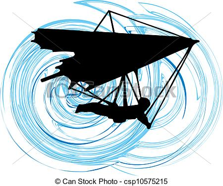 Hang gliders Stock Illustrations. 674 Hang gliders clip art images.