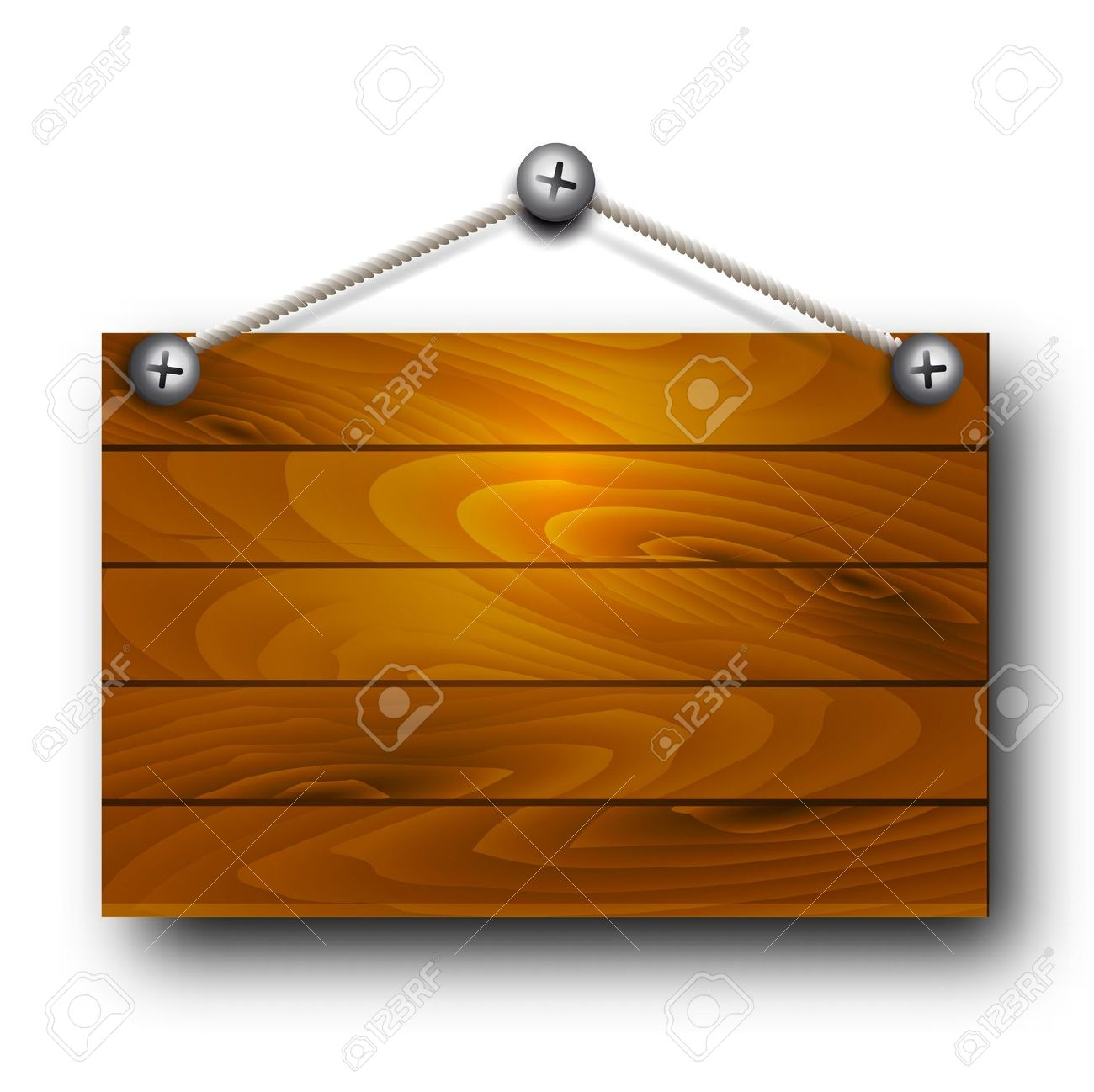 Vectorwooden Board Hanging Royalty Free Cliparts, Vectors, And.