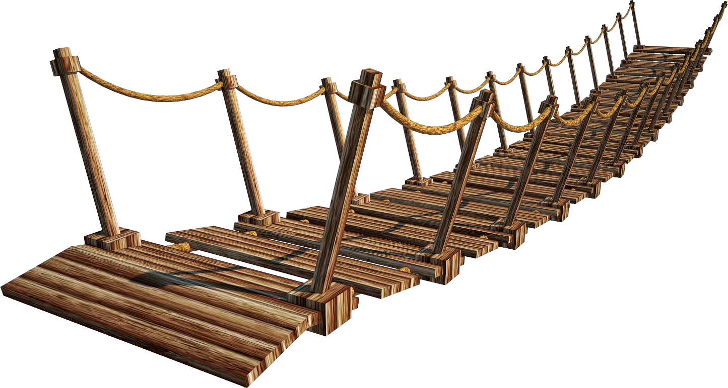 Vector and Deviantart More Like Wooden Bridge Suspension Bridge.