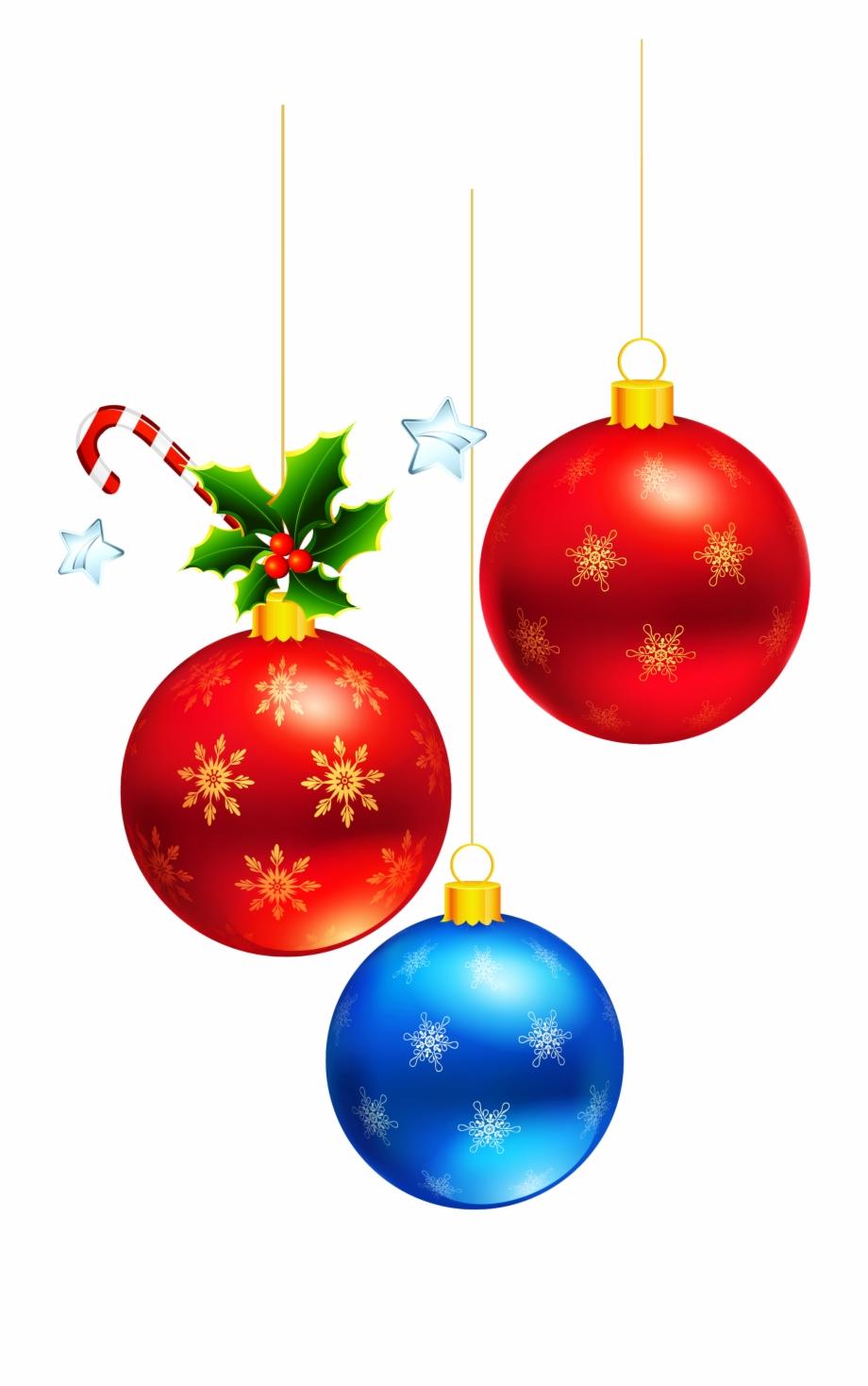 Hanging Christmas Ornament Png Transparent Download.