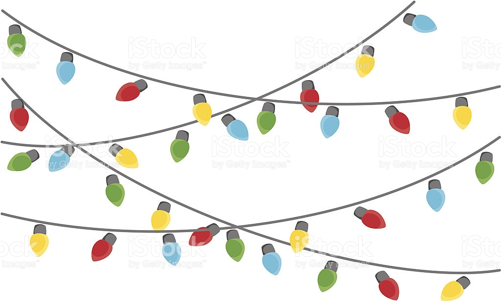 Hanging Christmas Lights Clipart Clipground