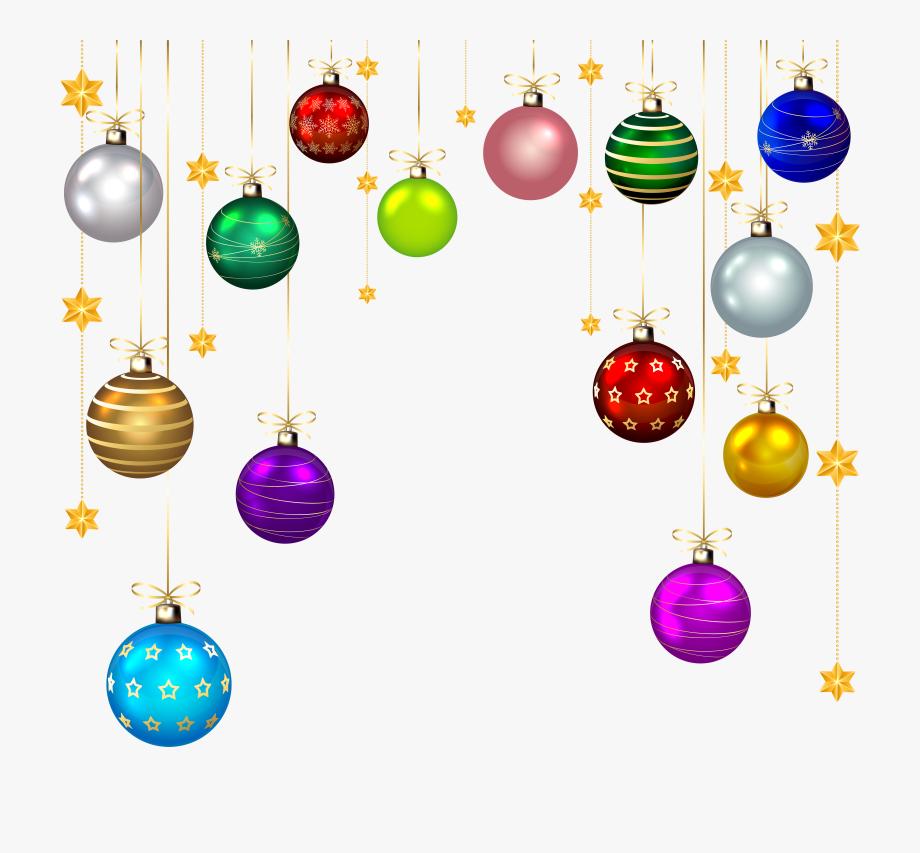 Balls Christmas Ornaments Clip Art Transparent , Png.