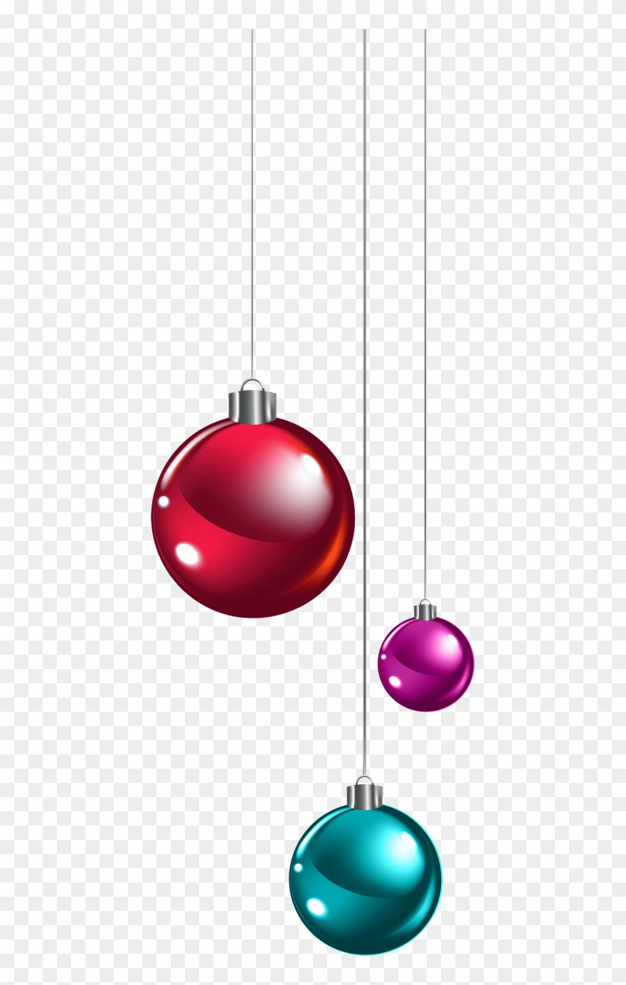Download Hanging Christmas Balls Clipart Png Photo Transparent Png.