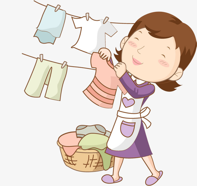Hanging clothes clipart 7 » Clipart Station.