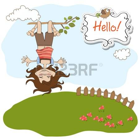 868 Hanging Down Stock Vector Illustration And Royalty Free.