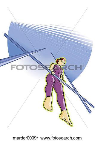 Stock Image of gymnast, exercise, strength, agility, ability.