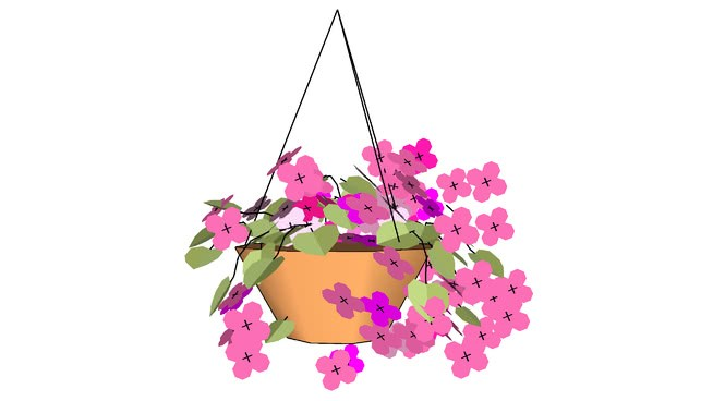 Hanging baskets clipart 4 » Clipart Portal.