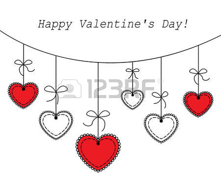 4,166 Hanging Heart Cliparts, Stock Vector And Royalty Free.