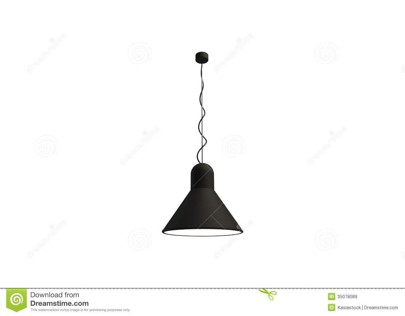 Ceiling Lamp Illustration