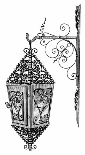 Victorian Hanging Lamps.