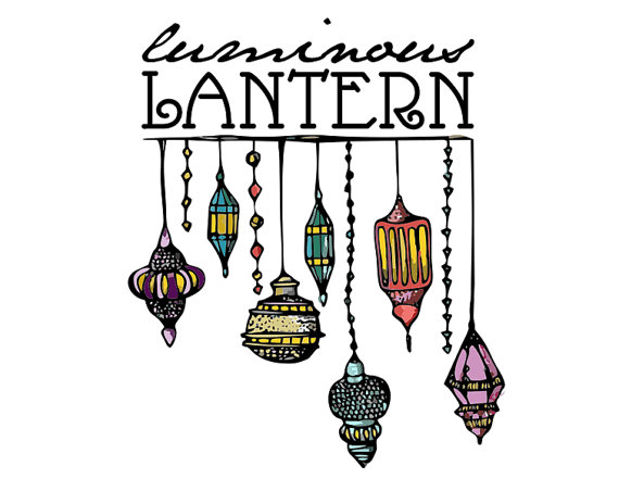 Hanging Moroccan Candle Lantern Clipart.