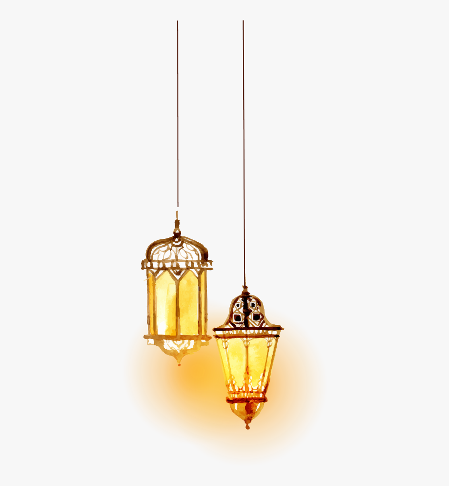 Transparent Hanging Lantern Png.