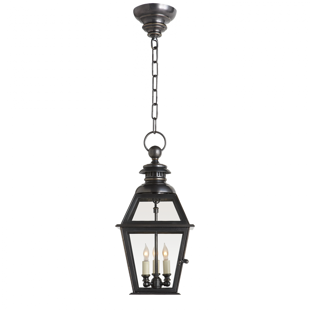 Chelsea Medium Hanging Lantern in Bronze : 25NQF.