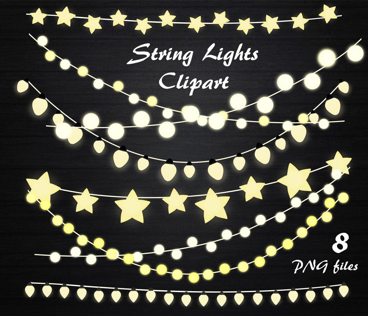 String light clipart.