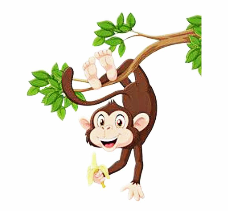 Hanging Monkey Clipart Png, Transparent Png Download For Free.