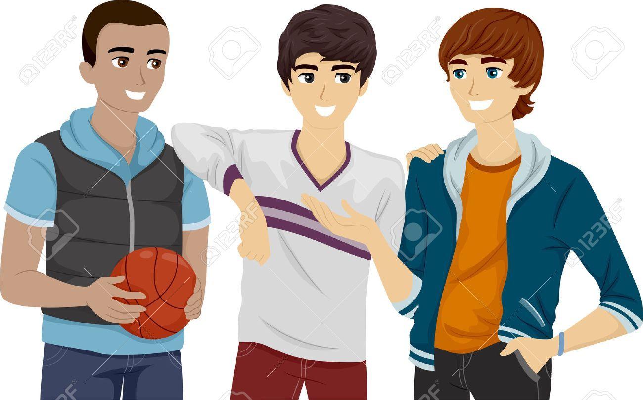 Hanging out with friends clipart 2 » Clipart Portal.