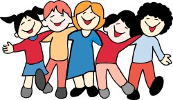 Hang out with friends clipart 3 » Clipart Station.