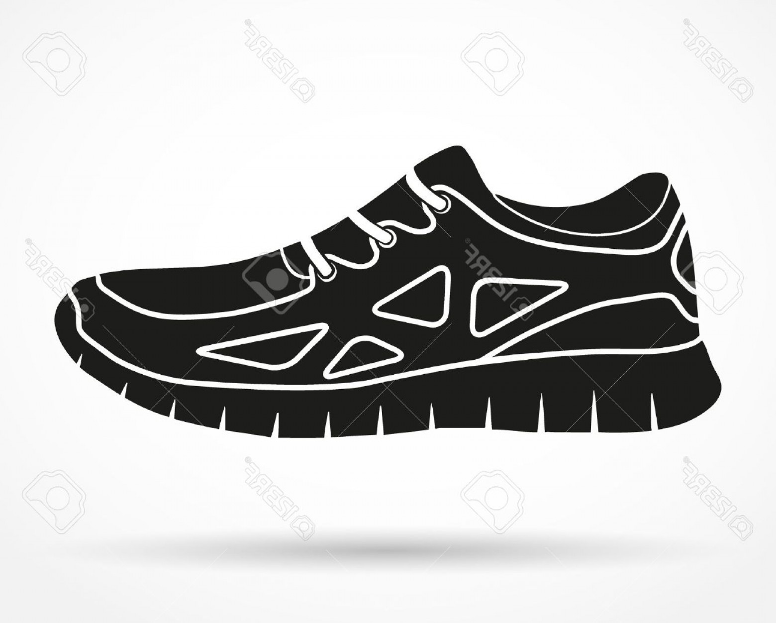 Sneakers Hanging Clipart.