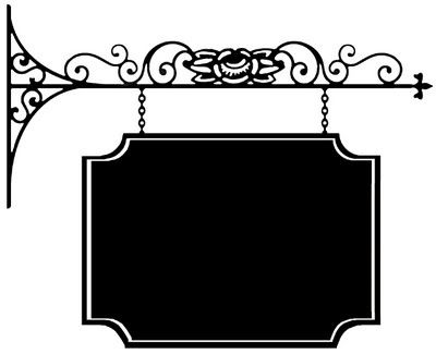 Hanging sign clipart 2 » Clipart Station.