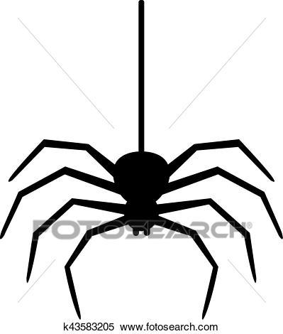 Hanging spider clipart 5 » Clipart Portal.