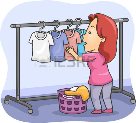 297 Clothes Hanging On A Clothesline Cliparts, Stock Vector And.