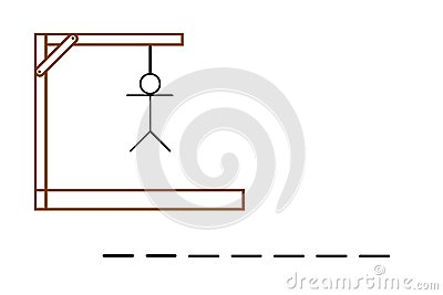Hangman Stock Illustrations.