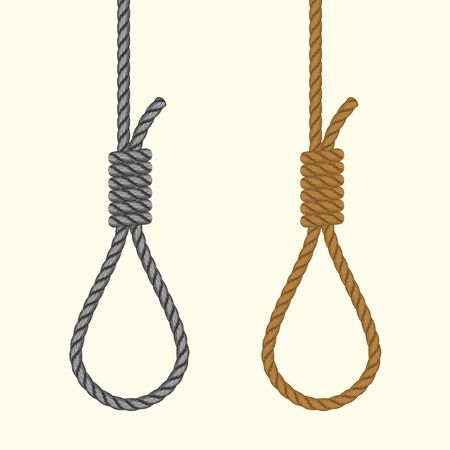 84 Hangmans Noose Stock Vector Illustration And Royalty Free.