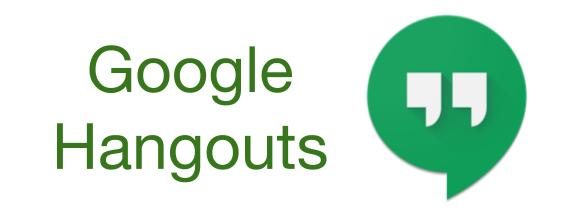 Let\'s Hangout! (An intro to video chatting with Google.