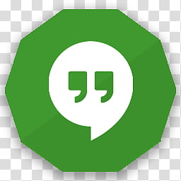 Free Apps And Website Polygon Icons, GOOGLE HANGOUTS.