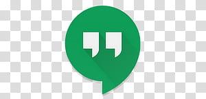 Android Lollipop Icons, Hangouts, Hangouts icon screenshot.