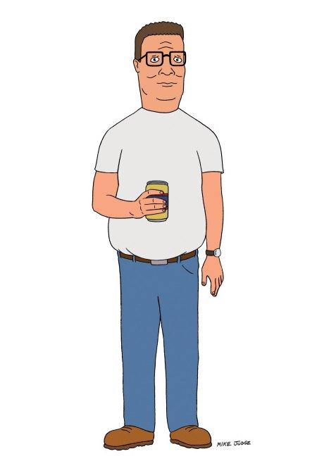 Hank hill clipart.