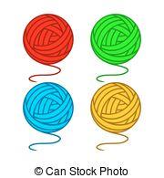 Hank yarn Vector Clip Art EPS Images. 31 Hank yarn clipart vector.