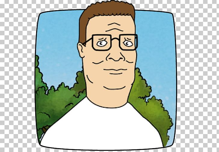 King Of The Hill Animation Throwdown: The Quest For Cards Hank Hill.