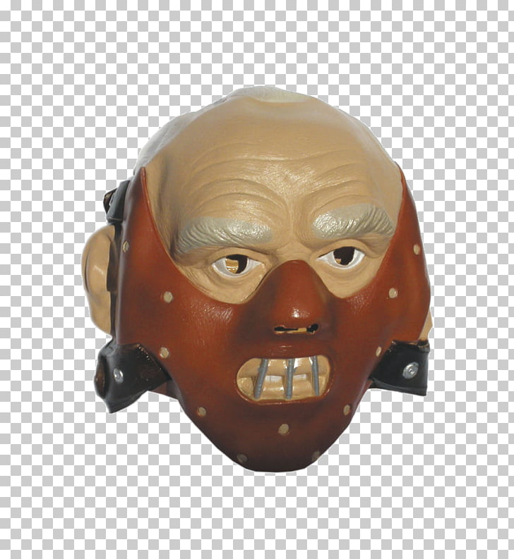 The Flesh Mask Headgear Costume party Hannibal, mask PNG.