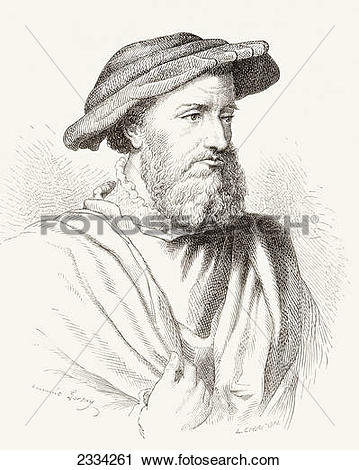 Stock Photography of Hans Holbein The Younger, C. 1497â'Ã.