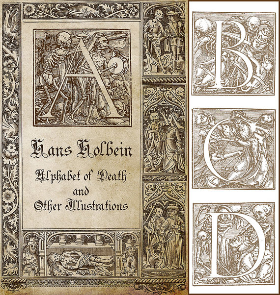 Antique Illustrations of Death by Hans by OriginsDigitalCurio.
