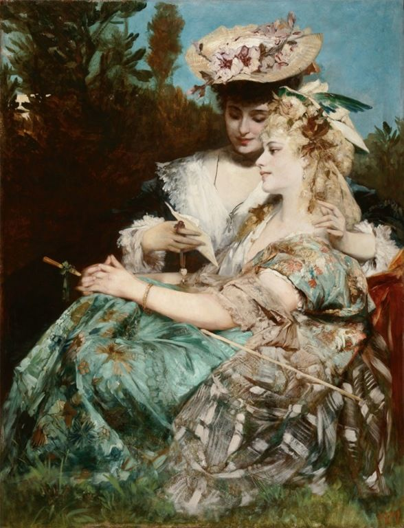 1000+ images about Hans Makart. Zatzka on Pinterest.