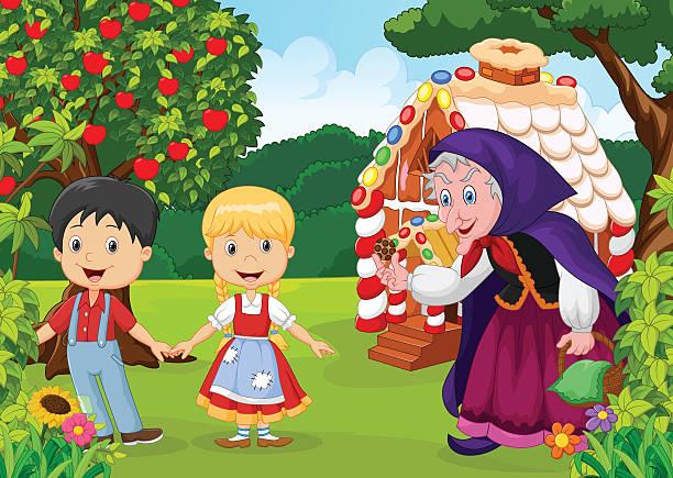 Best Hansel Gretel Illustrations, Royalty.