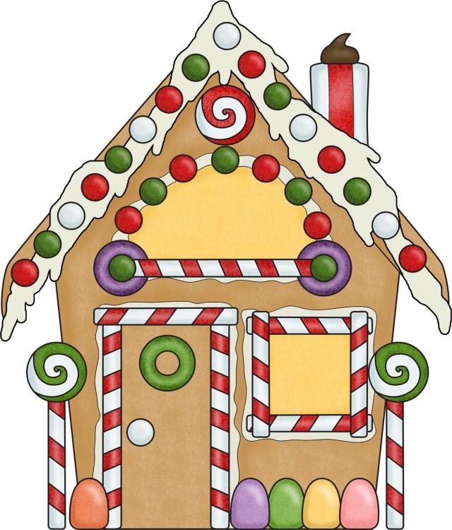 Hansel and gretel gingerbread house clipart.