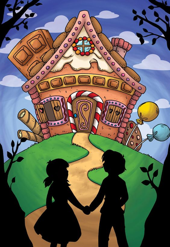 Hansel And Gretel Houses Clipart Clipground