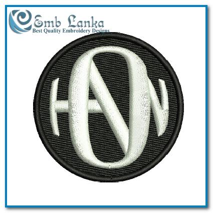Hanson Logo Embroidery Design.