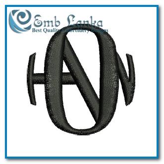 Hanson Logo 2 Embroidery Design.