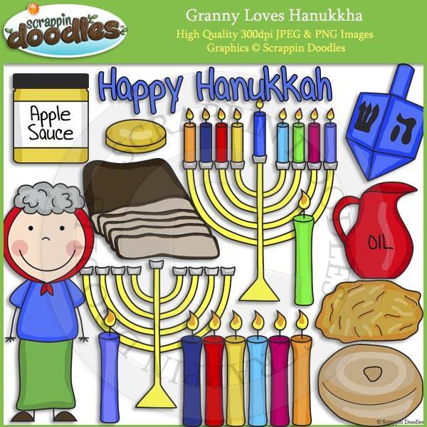 Granny Loves Hanukkah.