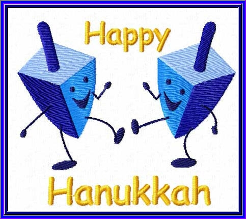 Animated hanukkah clip art.